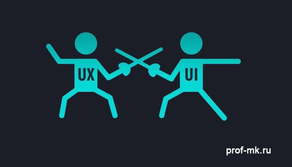 Отличие UX юзабилити от UI