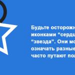 Юзабилити иконок