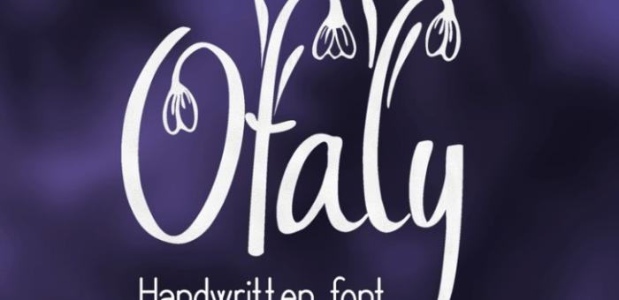 Весенние шрифты для сайта